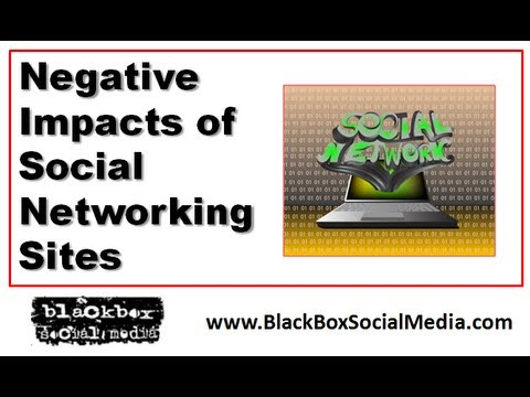 Of social media negative consequences Understanding The